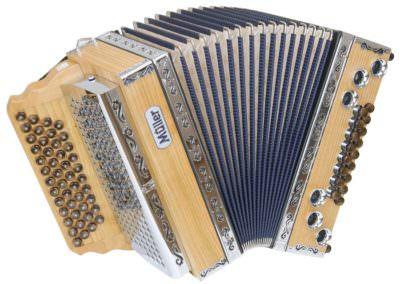 Steirische Harmonika Müller Jubiläum - blau