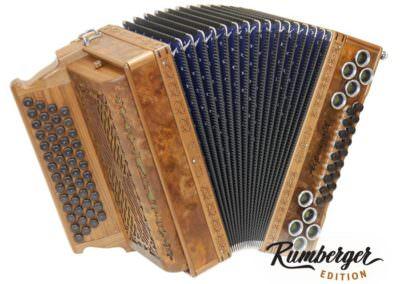 Steirische Harmonika Alpengold Original 50/18 Wurzel Nuss - Rumberger Edition