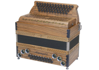 Steirische Harmonika Alpengold Stubach Premium Natur - Euronuss