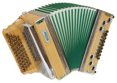 Steirische Harmonika Müller Klippitz - grün