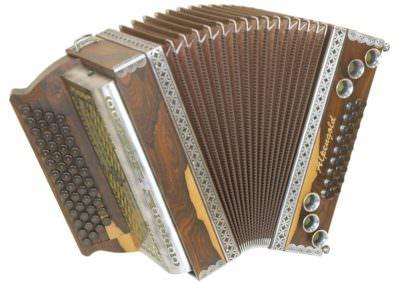 Steirische Harmonika Alpengold Stubach Klassik Ziricote