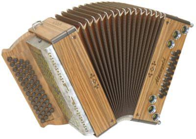 Steirische Harmonika Alpengold Tirol 3 Plus Euronuss
