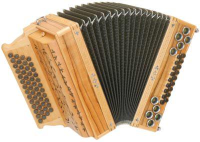 Steirische Harmonika Alpengold Original 50/18 Indischer Apfel