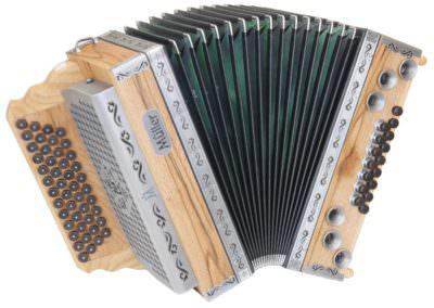Steirische Harmonika Müller Marmor-Eiche