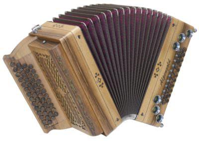 Steirische Harmonika Alpengold Tirol 1 Nuss - 50/22