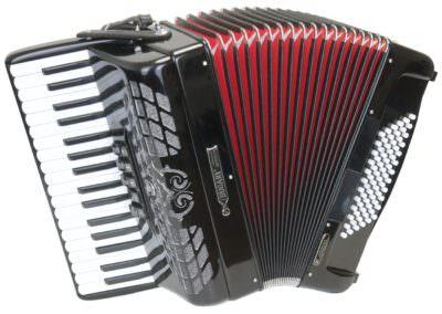 Gebrauchtes Akkordeon Bugari 372