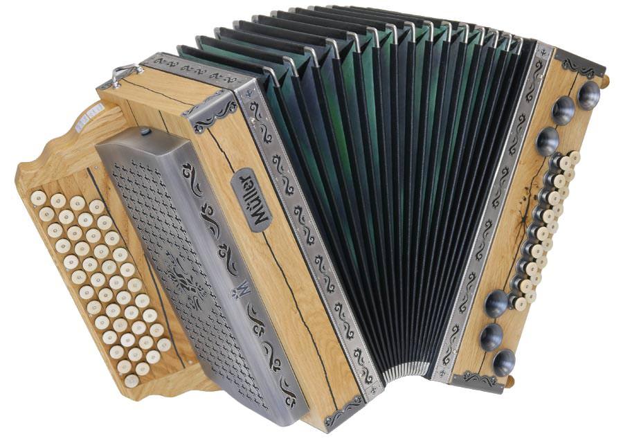 Steirische Harmonika Müller Donar-Eiche