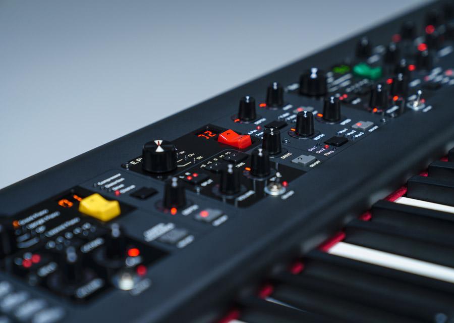Stagepiano Yamaha CP88 - Bedienoberfläche