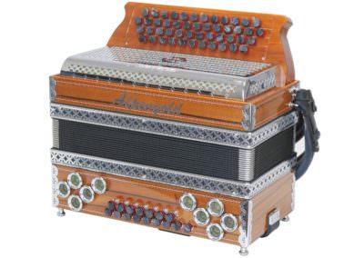 Gebrauchte Steirische Harmonika Alpengold Stubach Klassik - Indischer Apfel