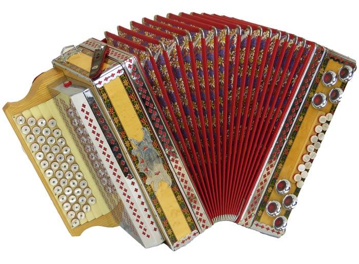 Leihinstrument Steirische Harmonika Alpenklang