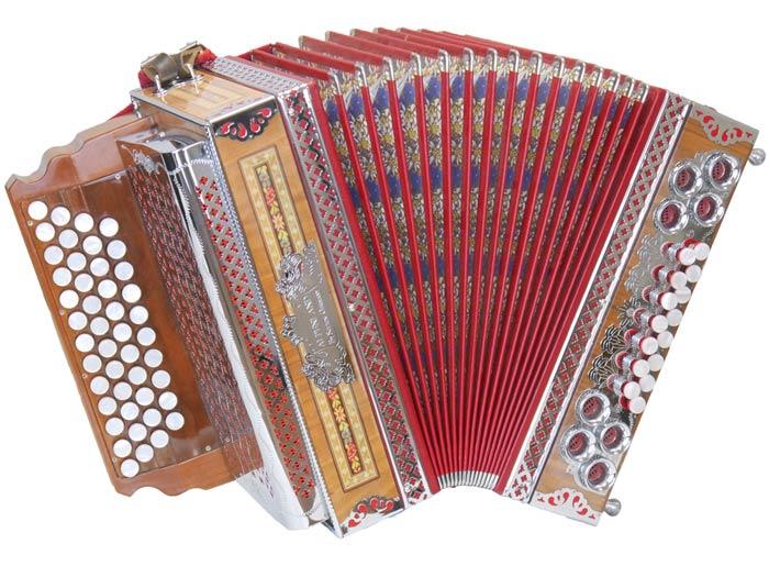 Leihinstrument Steirische Harmonika Alpenland
