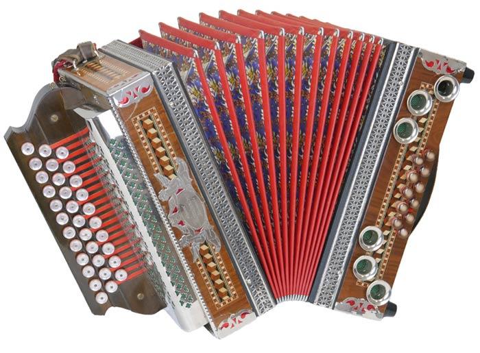 Leihinstrument Steirische Harmonika Kärntnerland
