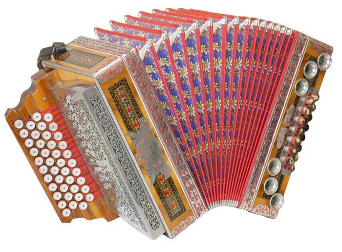 Leihinstrument Steirische Harmonika Novak
