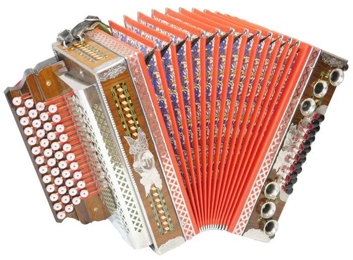 Leihinstrument Steirische Harmonika Parz