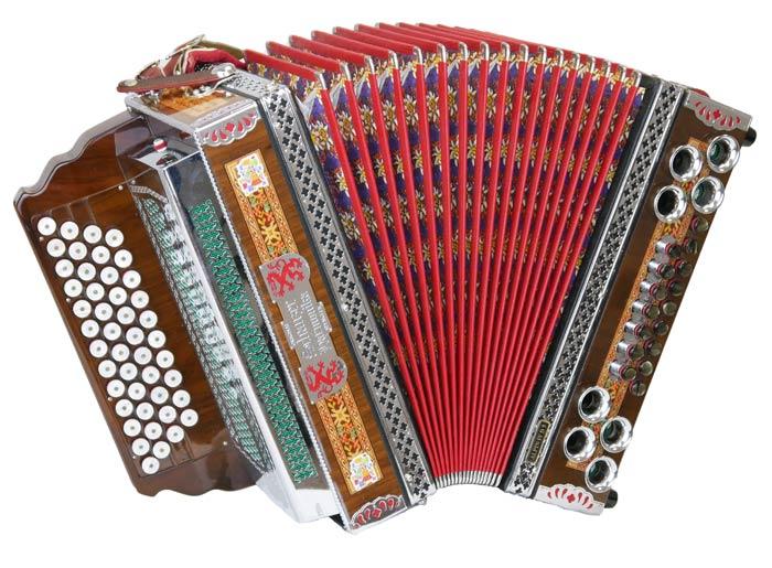 Leihinstrument Steirische Harmonika Schanzer