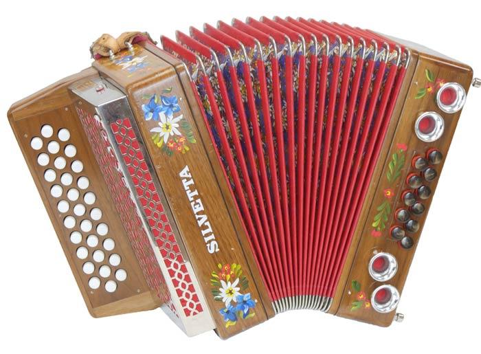 Leihinstrument Steirische Harmonika Silvetta