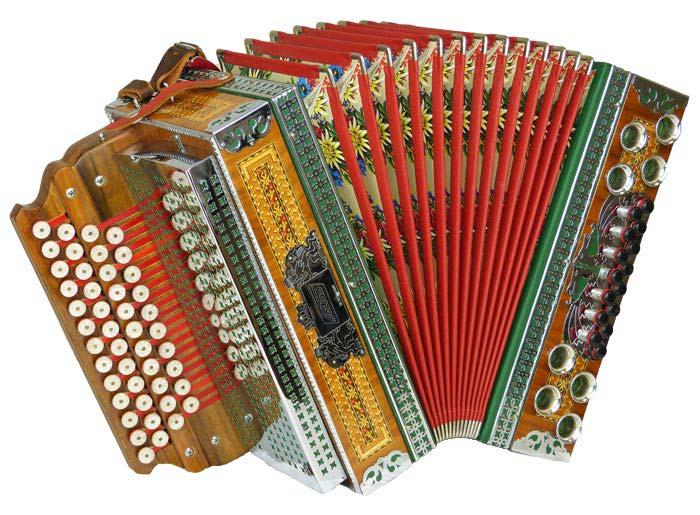 Leihinstrument Steirische Harmonika Solton