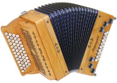 Steirische Harmonika Alpengold Tirol 2/2 Eibe