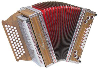 Steirische Harmonika Alpengold Stubach Klassik 36 - Nuss