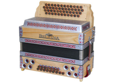 Steirische Harmonika Beltuna Alpstar IV D Esche Spezial- rot