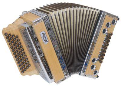 Steirische Harmonika Müller Klippitz - braun