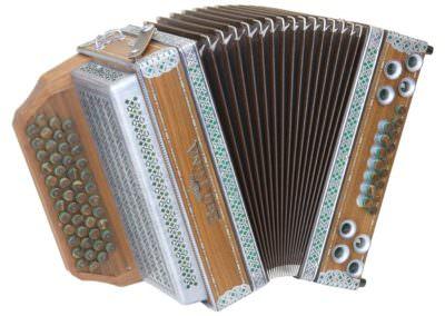 Steirische Harmonika Beltuna Alpstar IV D Nuss - braun
