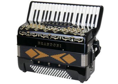 Gebrauchtes Akkordeon Brandoni 373 / 80 Bass