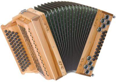 Steirische Harmonika AR 50/18 DH - Heimischer Apfel