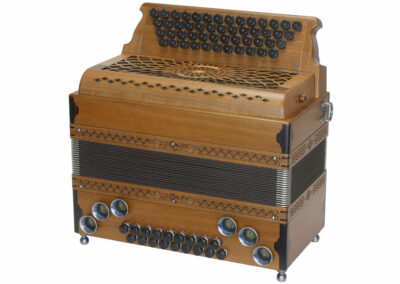 Steirische Harmonika AR 50/18 DH - Nuss
