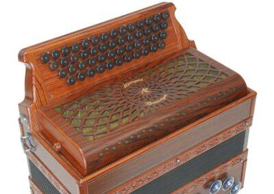 Steirische Harmonika AR 50/18 DH - Santos Palisander