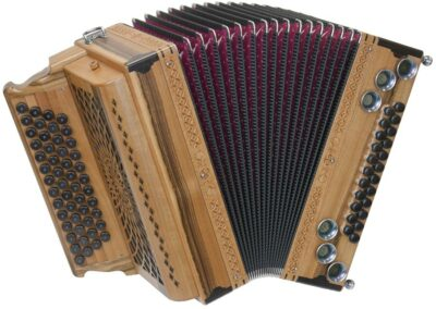 Steirische Harmonika AR 5023 DH - Nuss