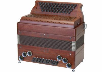 Steirische Harmonika AR PIX 46/18 DH - Santos Palisander