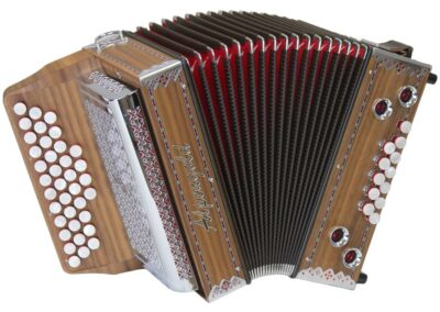 Steirische Harmonika Alpengold Junior 23 Nuss