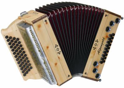Steirische Harmonika Alpengold Tirol 2 Zirbe