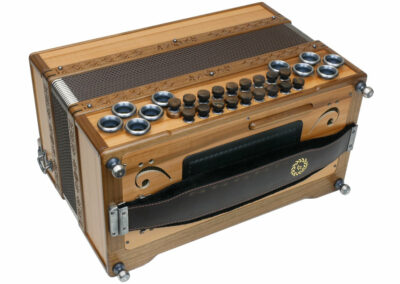 Steirische Harmonika AR 50/18 DH Apfel/Nuss