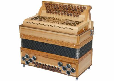 Steirische Harmonika AR 50/18 DH Heimischer Apfel