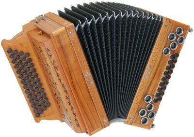 Steirische Harmonika AR PIX 50/18 DH - Indischer Apfel