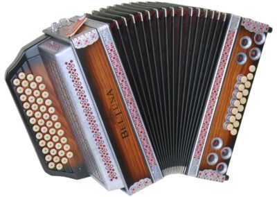 Steirische Harmonika Beltuna Alpstar IV D Rosewood