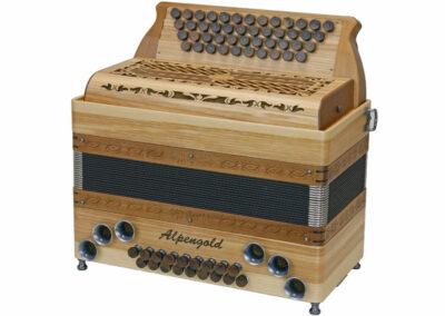 Steirische Harmonika Alpengold Tirol 2 Olivesche