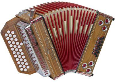 Steirische Harmonika Beltuna Alpstar II D