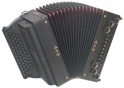 Steirische Harmonika AR PIX 50/18 DH - Makassar