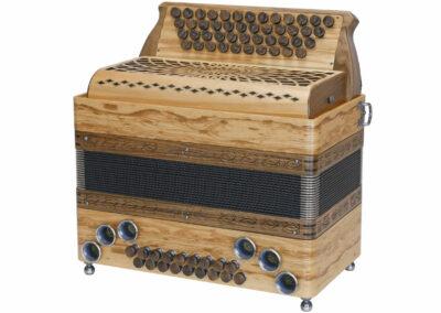 Steirische Harmonika AR PIX 46/18 DH - Olivesche