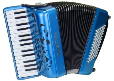Akkordeon Brandoni Piccolo - blau