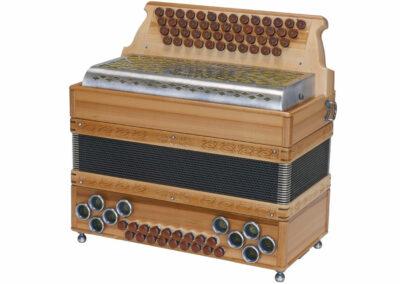 Steirische Harmonika AR 50/18 DH - Heimischer Apfel | Metallverdeck