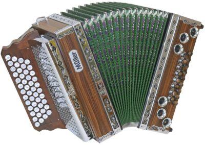 Steirische Harmonika Müller Hohenwart - grün